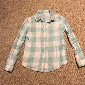 Girls flannel shirt size 6